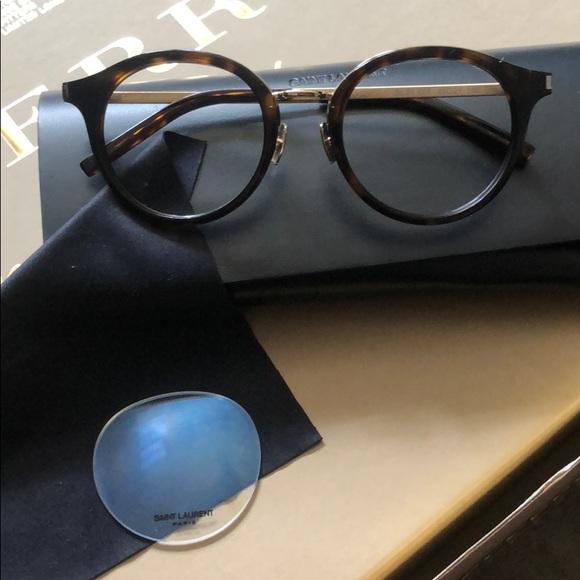 345e5b8b79 SAINT LAURENT SL 91 tortoise gold tone eye glasses.  M 5b116ea42beb79ad26ae1e96